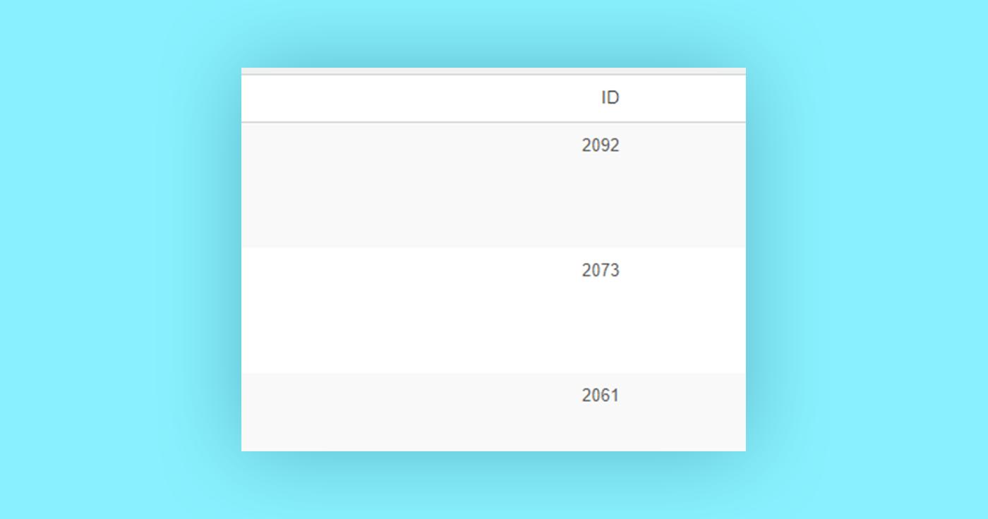 הצגת ID של כל סוגי הפוסטים בדשבורד של וורדפרס