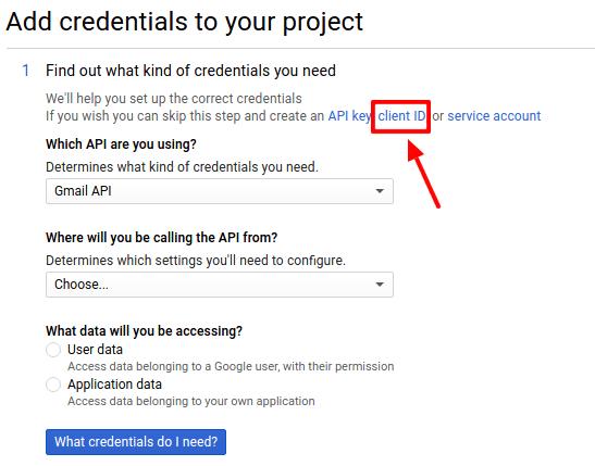 Gmail Credentials